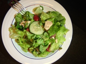 Pea & Chicken Greek Salad